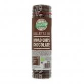 Bolachas de cacau com pepitas de chocolate Biocop, 250 g