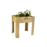 Tavolo da coltivazione legno modello alto