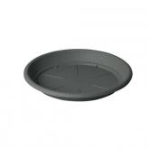 Piatto per vaso PVC Iniezione - Antracite