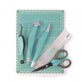 Kit magnético de ferramentas mini, Aqua We R Memory Keepers