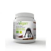 All in one cacao nutricional shake BeVegan, 600 g