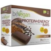 Barra  cacao protein energy BIO Bevegan, 6 barritas x 36 g