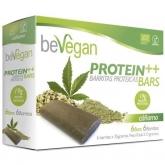 Barrette canapa BIO protein Bevegan, 6 barrette x 36 g