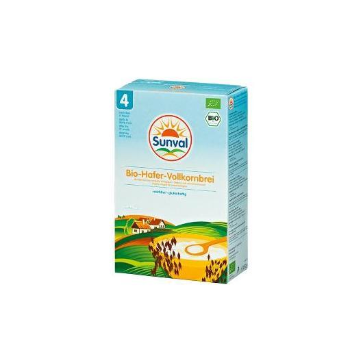 Bouillie d'avoine intégrale Sunval, 250 g