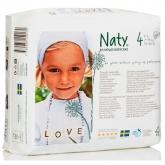 Fralda nº 4 Naty 7-18 kr, 27 ud