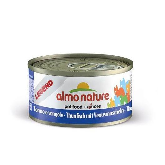 Thon et palourdes Almo Nature 70 g