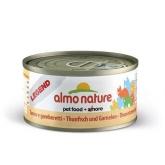 Atún y camarones Almo Nature 70 gr