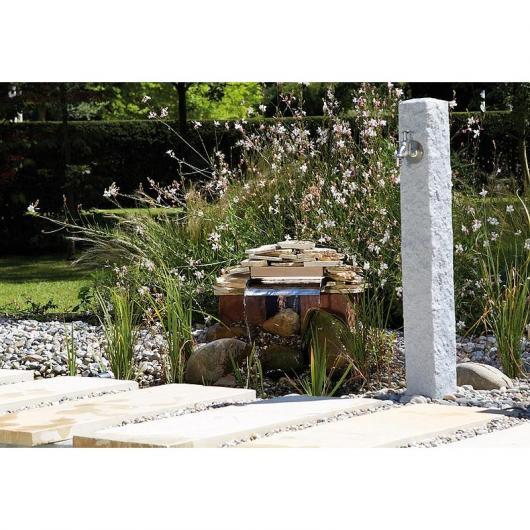 Fuente de jardín granito claro