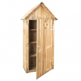 Armario de madera de jardín Wissant