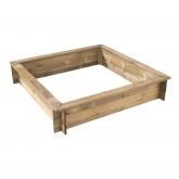 Caixa de Areia quadrado de 243 L