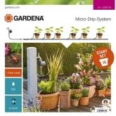 Set irrigazione per vasi automatico Gardena