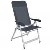 Cadeira de campismo desdobrável com 5 posições