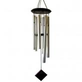 Campana di vento Plutón color argento