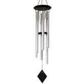 Campana di vento Tierra color argento