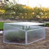 Invernadero di policarbonato e alluminio