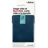 Porta bocadillos reutilizable Boc'n'Roll SQ azul