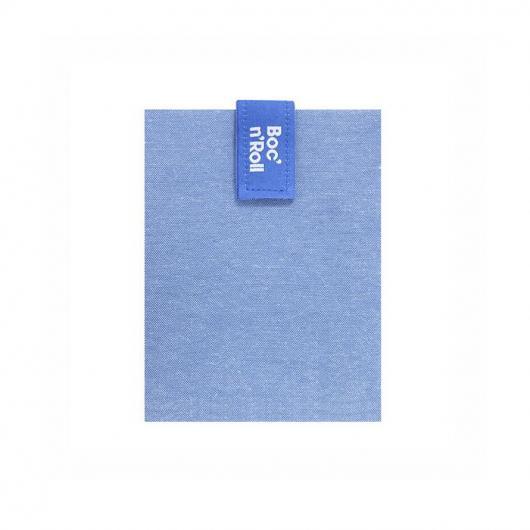 Porta sandwich riutilizzabile Boc'n'Roll ECO azzurro