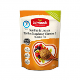 Linhaça moída com Probiótico e Vitamina D, Linwoods, 200 gr