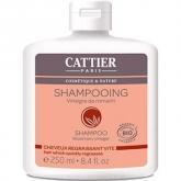 Shampoo cabelos oleosos vinagre de alecrim Cattier, 250 ml