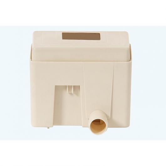 Collecteur d'eau de pluie filtrant Quattro beige