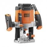 Fresadora eletrônica 1200W + 11 acessórios KW1200E Black & Decker