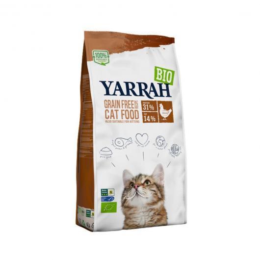 Pienso para Gatos con Pollo y Pescado Yarrah 800 g