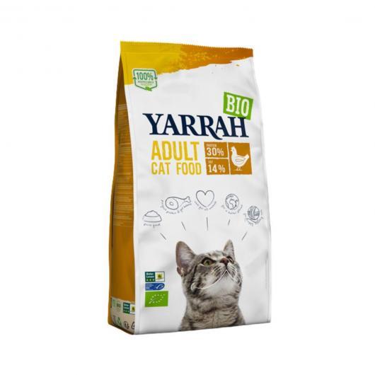 Nourriture pour chats à base de poulet Yarrah 800 g