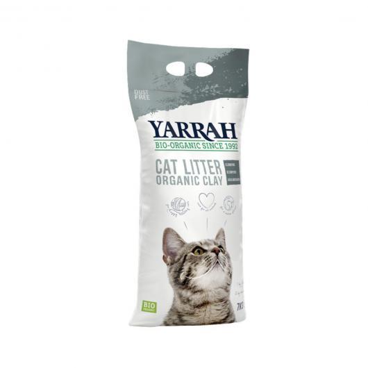 Litière bio super absorbante pour chats Yarrah 7 kg