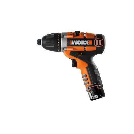 Cacciavite, trapano, giravite ad impatto a batteria Worx 12V