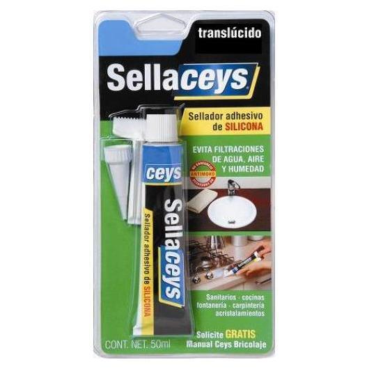 Silicone universale Sellaceys translucido 50ml