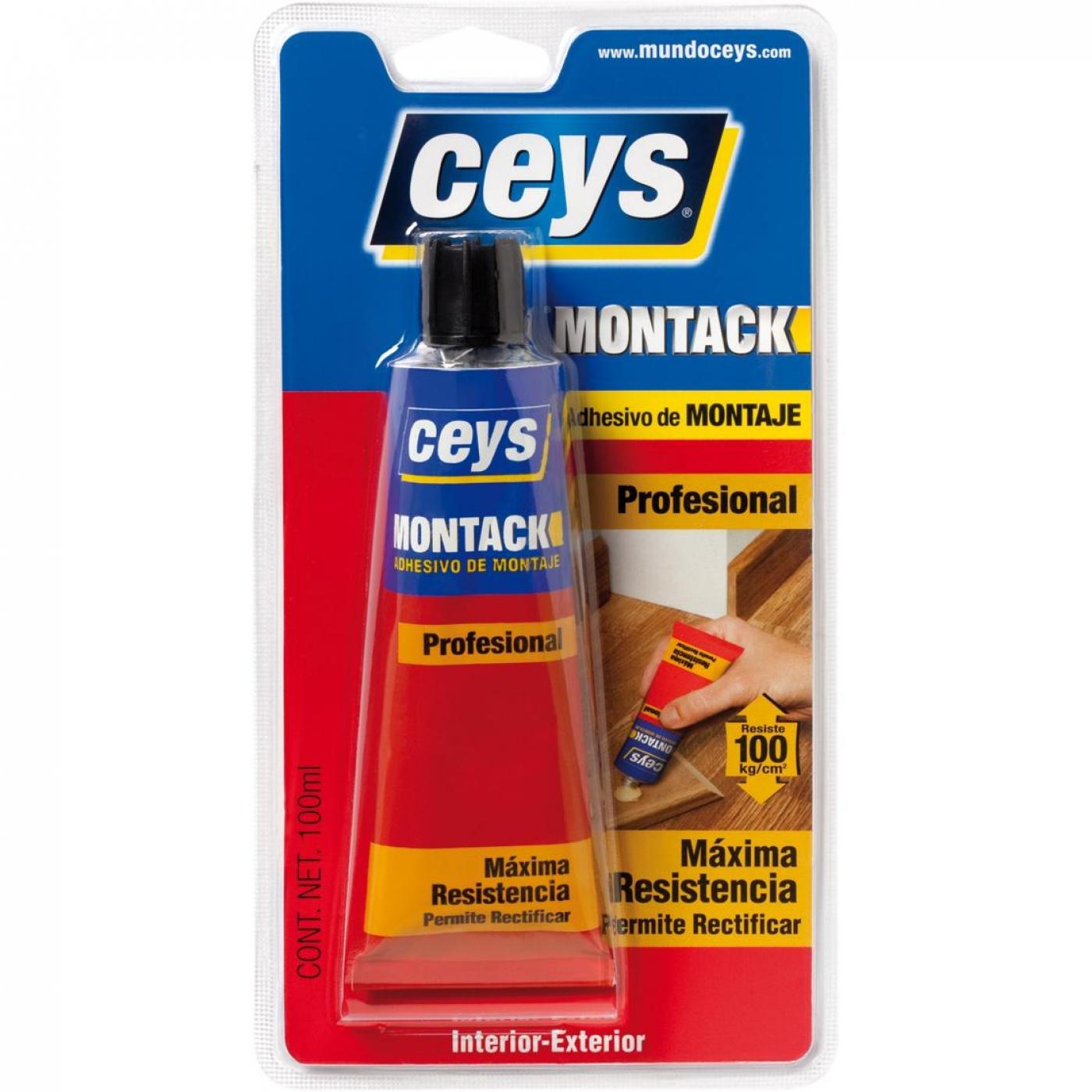 Adhesivo De Montaje Ceys ~ Adhesivo de montaje express Ceys Montack 100 ml por 4,95 u20ac en Planeta Huerto