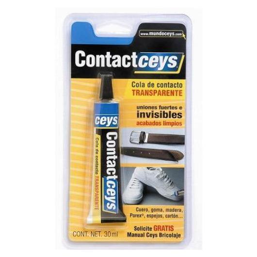 Colle de contact ContactCeys transparente 30 ml