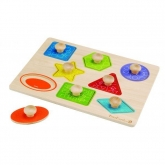 Giocattolo ECO Puzzle di forme, Everearth