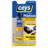 Adhesivo soldador Ceys para plásticos duros y rígidos 30 ml