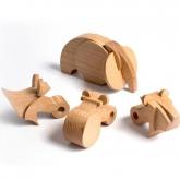 Jogo madeira ECO Pack Nanodontes, Wodibow