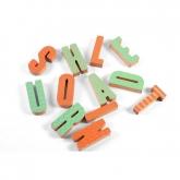 Giocattolo di legno ECO 12 lettere, Wodibow
