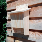 Caixa-ninho para morcegos dupla cavidade