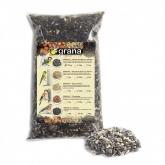Mistura de sementes com casca