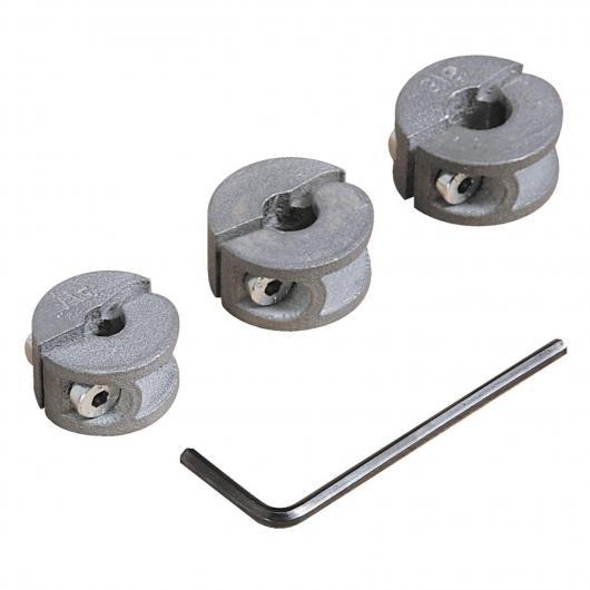 Butées de profondeur diamètres 6-8-10 mm Wolfcraft