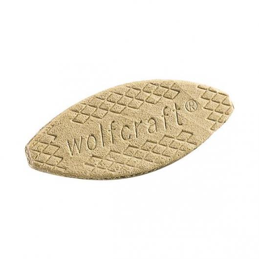 Wolfcraft 2922000 - 50 galletas para uniones No. 10