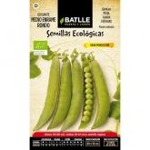 Semillas ecológicas de  Guisante 1/2 enrame rondo