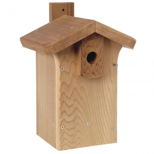 Casetta nido di legno classica