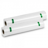 Pack 2 rolos de 28x600 cm para embaladora a vácuo, Cecotec
