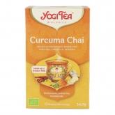 Chá Chai Curcuma BIO, Yogi Tea, 17 saquetas