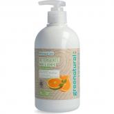 Sabão líquido mãos e corpo de Menta e Laranja Greenatural, 500 mlL