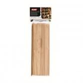 Espetos de bambu 30 cm, 100 un, Ibili