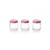 Conjunto de 3 frascos para conservas, Ibili 747205