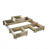 Giardino modulare Patisson 3 in 1