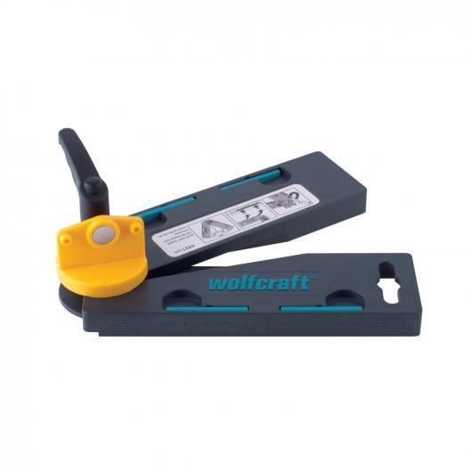 Wolfcraft 6921000 - 1 falsa escuadra con bisectriz automática. 30° - 180°