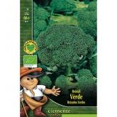 Sementes biológicas de Brócolos Verdes calabrese natalino